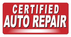 certified auto repair shop