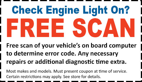 Free Check Engine Light Code Scan