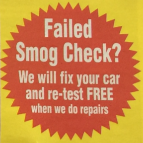 Free Smog Retest