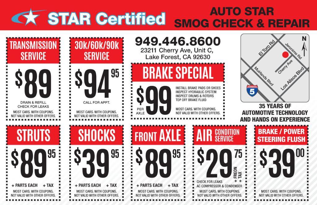 Multiple Auto Repair Discounts